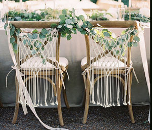 Macrame Chair Covers-CatCow Co