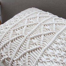 Load image into Gallery viewer, Macrame Pillowcase-CatCow Co
