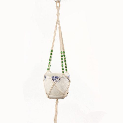 Lia Macrame Pot Hanger-CatCow Co