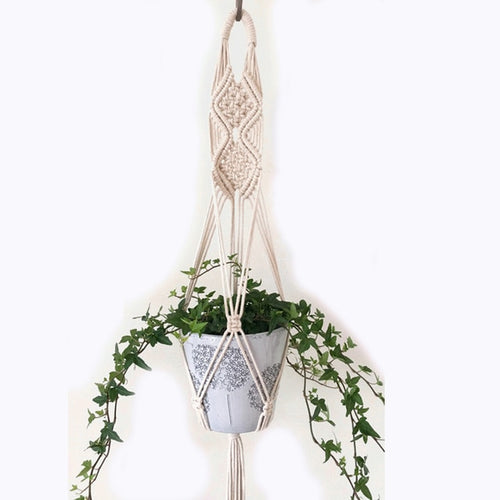 Mica Macrame Pot Hanger-CatCow Co