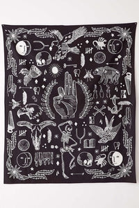 Death Card Tarot Tapestry-CatCow Co