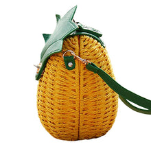 Load image into Gallery viewer, Pineapple Hobo Crossbody Handbag