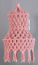 Load image into Gallery viewer, Solid color Camille Macrame light shades-Lamp-CatCow Co