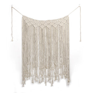 Large Macrame backdrop for boho decor-Macrame-CatCow Co