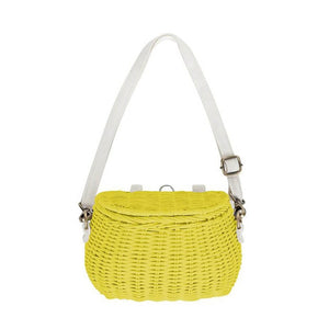 Kid rattan straw basket bag-CatCow Co