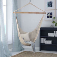 Load image into Gallery viewer, Adult/Kids Boho Cotton Canvas Hammock