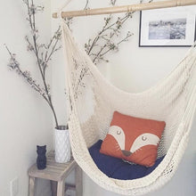 Load image into Gallery viewer, Adult/Kids Boho Cotton Hammock-Home & Garden-CatCow Co