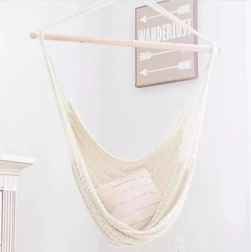 Adult/Kids Boho Cotton Canvas Hammock-Home & Garden-CatCow Co