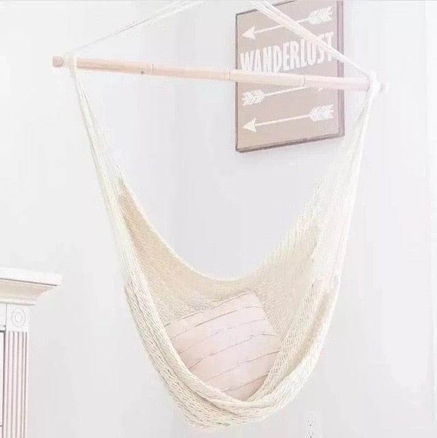 Adult/Kids Boho Cotton Hammock-Home & Garden-CatCow Co
