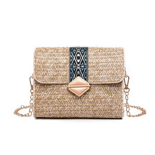 Load image into Gallery viewer, Bolsos  Rattan Cross body Bags