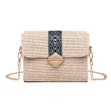 Load image into Gallery viewer, Bolsos Rattan Cross body Bags-CatCow Co