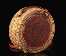 Load image into Gallery viewer, Embroidered Bohemian Woven Handbag (several designs available)-CatCow Co