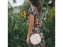 Load image into Gallery viewer, Raissa Woven Rattan Circle Bag-CatCow Co