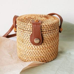 Bali Ata Rattan Intricate design Bags (multiple designs available)-CatCow Co
