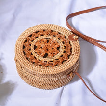 Load image into Gallery viewer, Bali Ata Rattan Intricate design Bags (multiple designs available)-CatCow Co