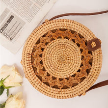 Load image into Gallery viewer, Bali Ata Rattan Intricate design Bags (multiple designs available)