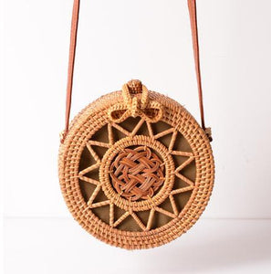 Bali Ata Rattan Intricate design Bags (multiple designs available)