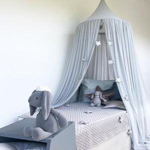 Chiffon Portable Play Teepee Tent Ceiling (several colors available)-CatCow Co