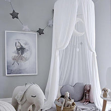 Load image into Gallery viewer, Chiffon Portable Play Teepee Tent Ceiling (several colors available)-CatCow Co