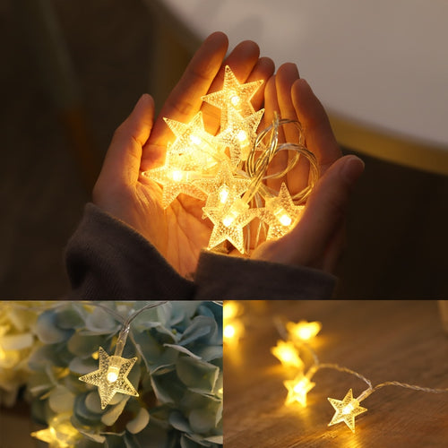 Star string light garland