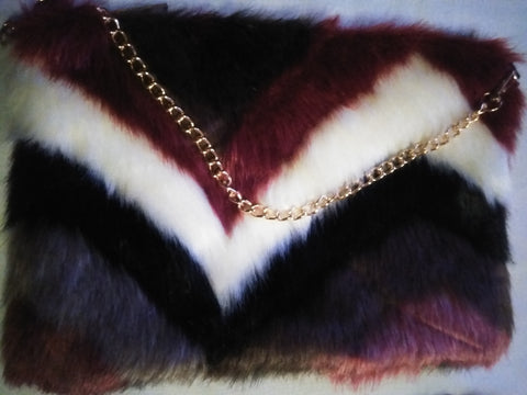 Multi-Color 3 in 1 Faux Fur