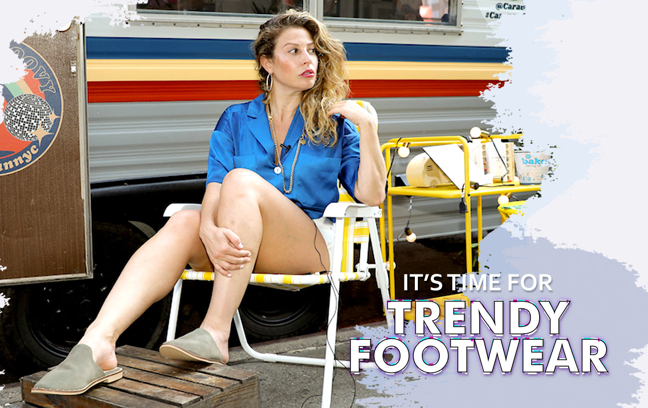 Its time for trendy footwear