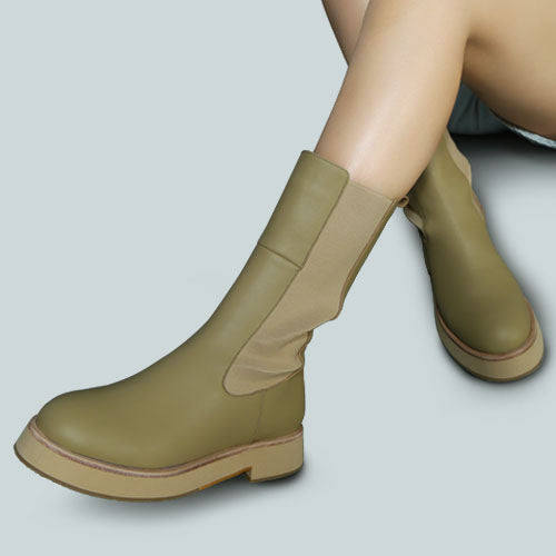 MILLER Chelsea Classic Taupe Boot