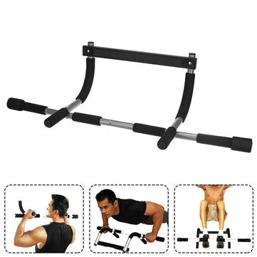 Adjustable Indoor Fitness Door Frame Pull Up Bar Wall Chin Up Bar Training Horizontal Bar For Home Workout Fitness Equipment