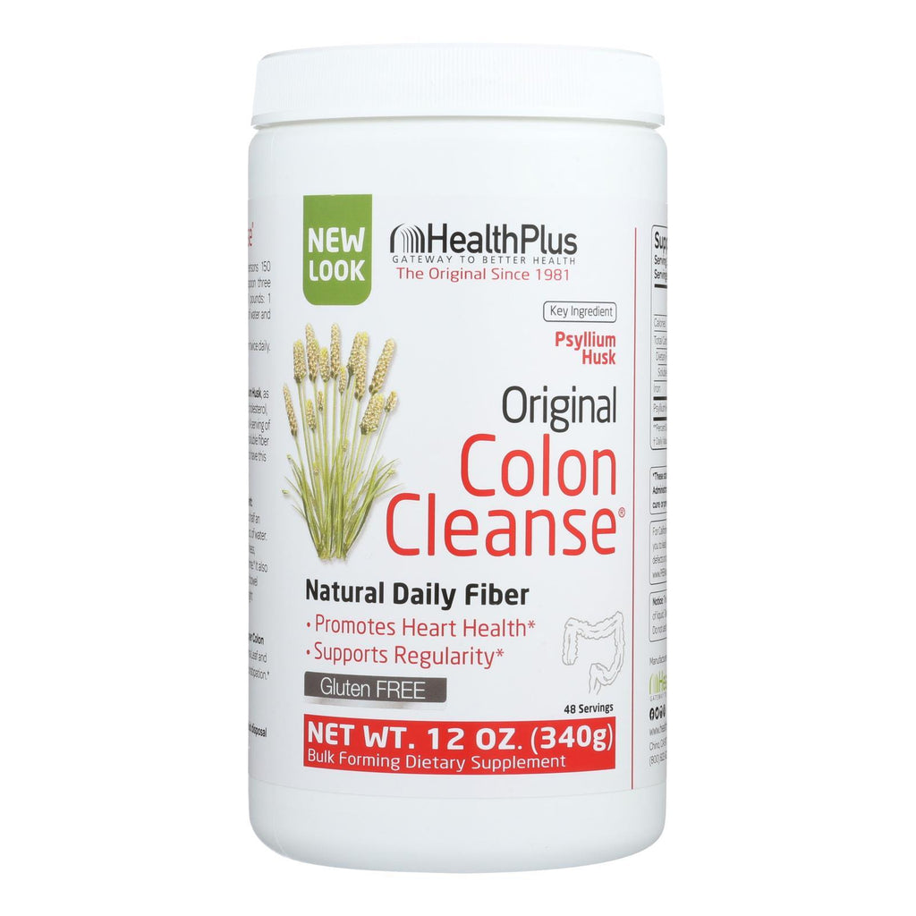 Health Plus - The Original Colon Cleanse Plain - 12 oz