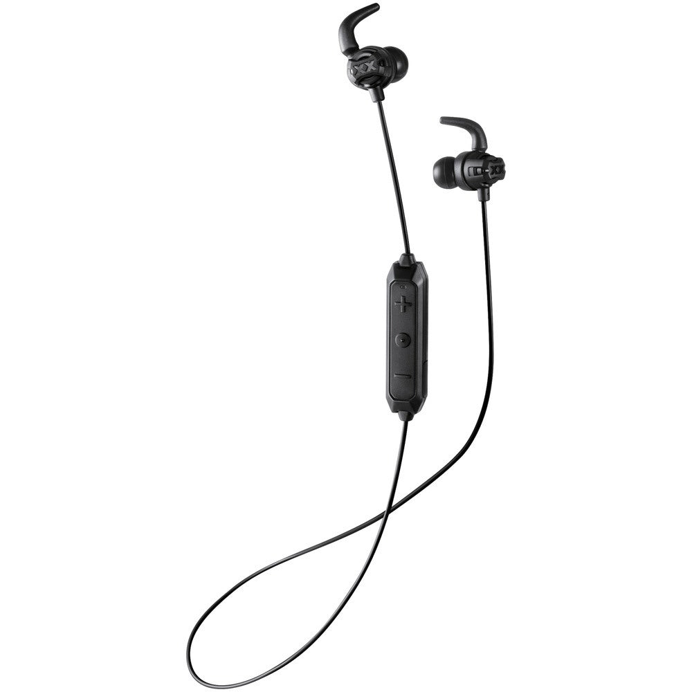 JVC HAET103BTB XX Fitness Sound-Isolating Bluetooth Earbuds (Black)