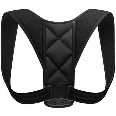 Image of New Hot Posture Corrector Adjustable Back Support Belt Spine Back Shoulder Brace Support Belts Adult Invisible Hunchback Belts