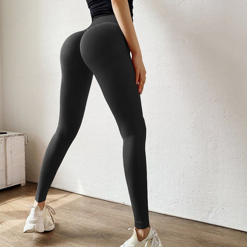 SVOKOR Fitness Leggings Women Push Up Gym Womens Clothing High Waist Short Leggings Sexy Workout Pants Female Ankle Knee Length