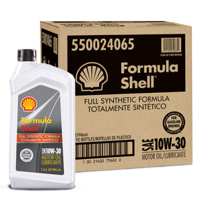 FORMULA SHELL FULL SYNTHETIC 10W30-6/1
