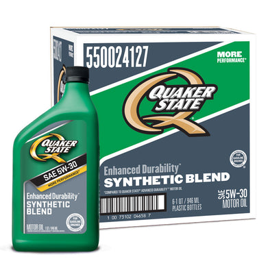 QUAKER STATE ENHANCED DU SB 5W30 -6/1Q