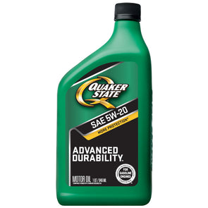 QUAKER STATE ADVANCED DURA 5W20 -12/1Q