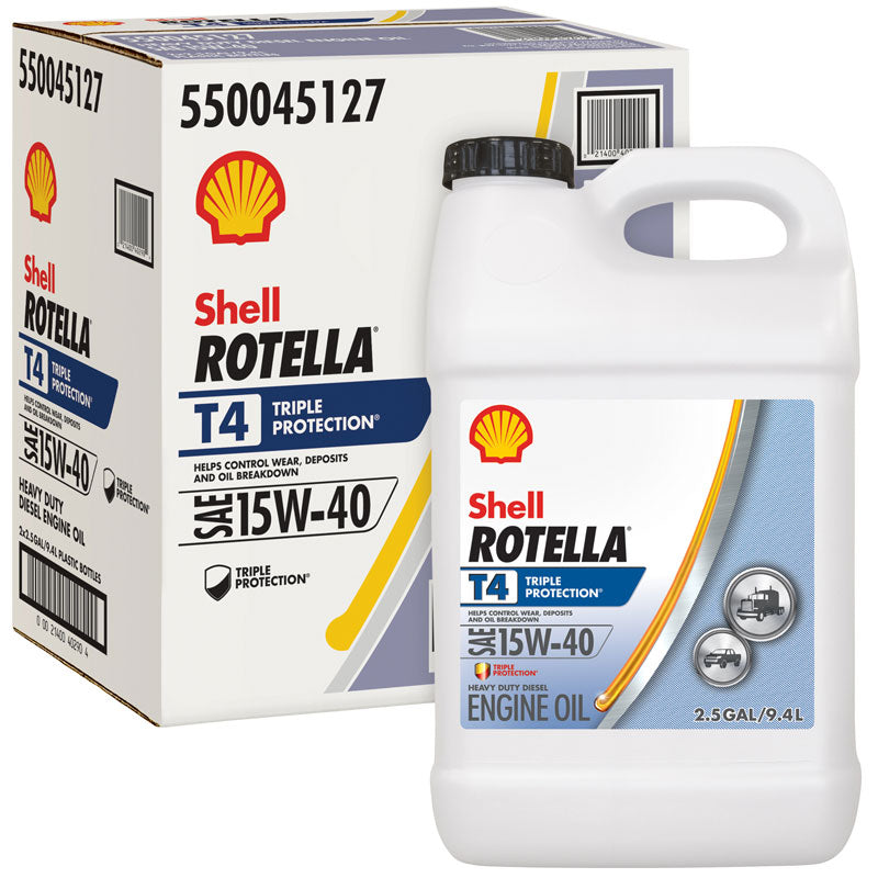 Shell Rotella T4 >> Shell Rotella T4 Tp 15w40 2 2 5g