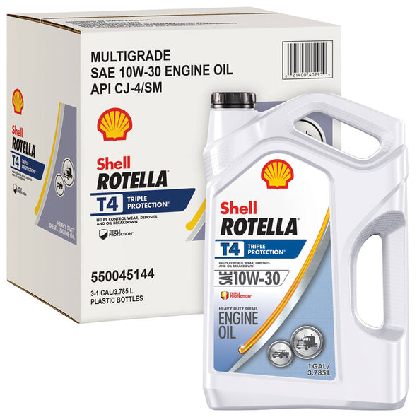 SHELL ROTELLA T4 TP 10W30-3/1G