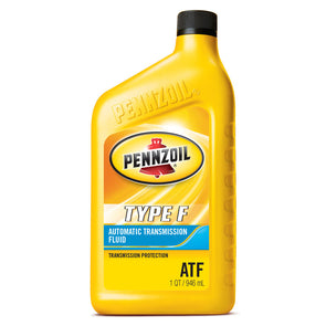 PENNZOIL TYPE F AUTOMATIC TRANSMISSION FLUID-12/1Q