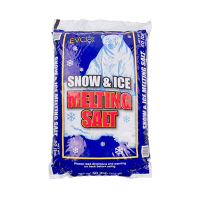 EVCO SNOW&ICE MELTING SALT 50#