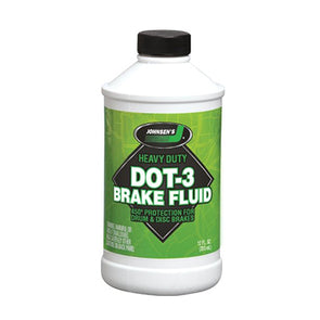 JOHNSEN'S DOT3 BRAKE FL 12/12oz