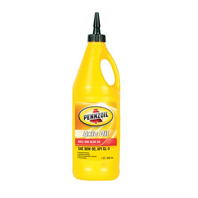 PENNZOIL AXLE 80W90 GEAR OIL-12/1