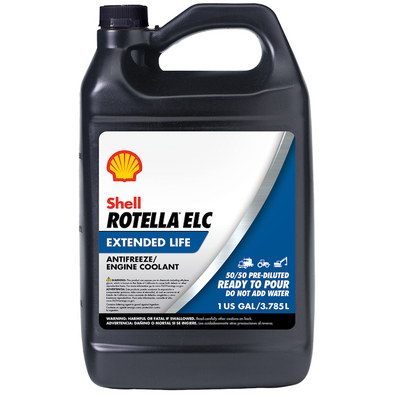 SHELL ROTELLA ELC 50/50 ANTIFREEZE-6/1G