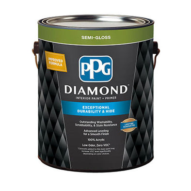 PPG WHITE PAINT - 1 GALLON