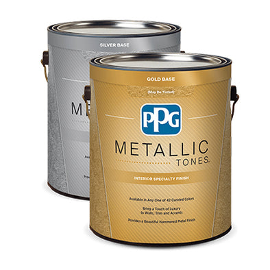 PPG YELLOW PAINT - 1 GALLON