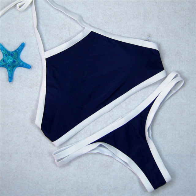 Deep sea blue bikini - Delfini Swimwear