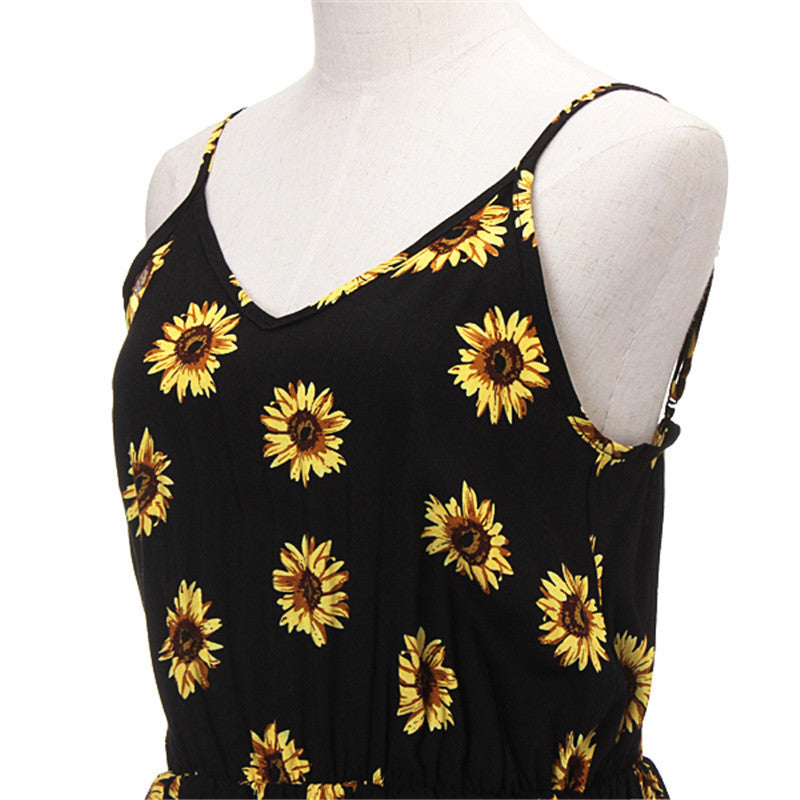 Sunflower Playsuit - Delfini Swimwear