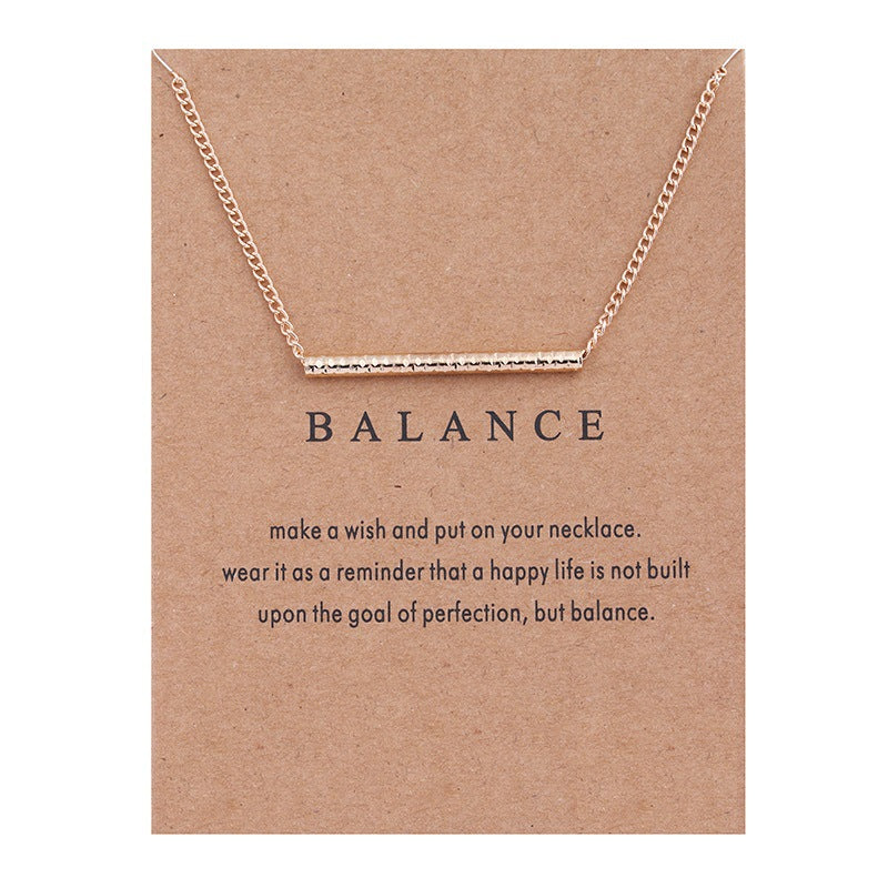 Balance Necklace - Delfini Swimwear