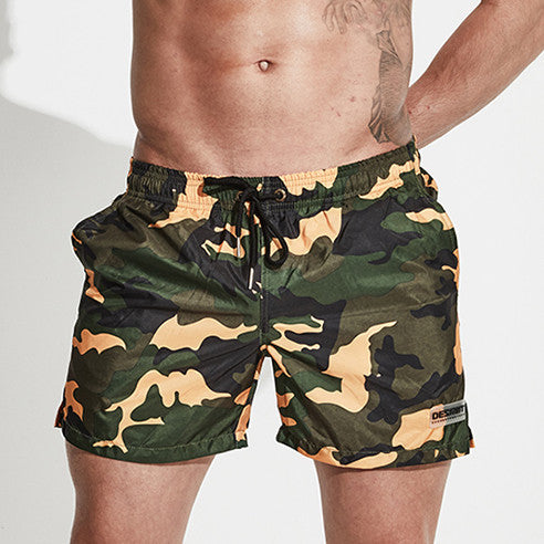Aruba Camo Swim Trunks - Delfini Swimwear