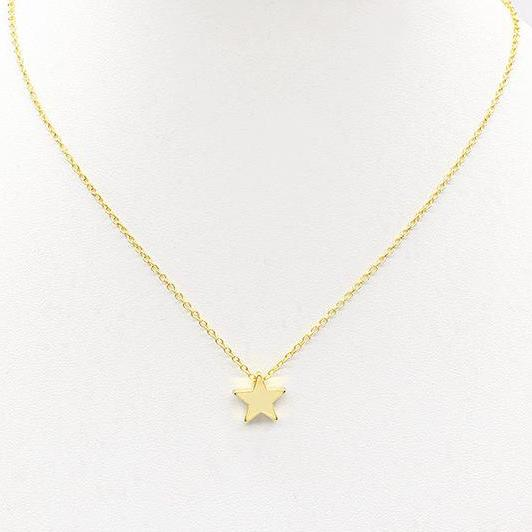 Night star gold necklace - Delfini Swimwear