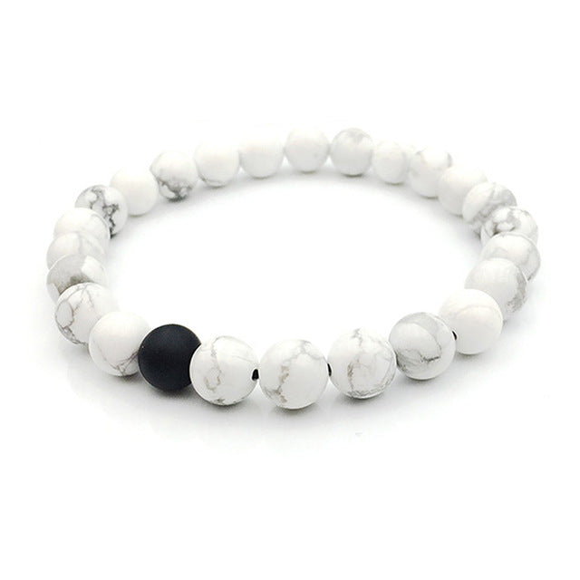 Marble Friendship Bracelet - Delfini Swimwear
